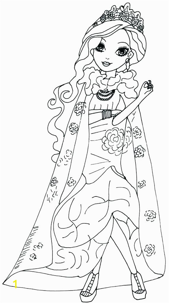 baby monster high printable coloring pages ever after descendants stylist ideas free online sheets