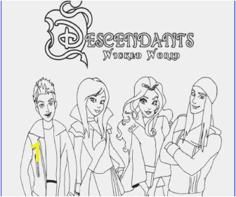 descendants coloring book game pages mal and evie disney games of free page printable uma colouring pictures to color 336x280