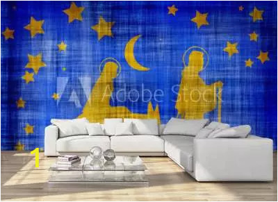 Desert Scene Wall Mural 24 891 Joseph Mary Wall Murals Canvas Prints Stickers