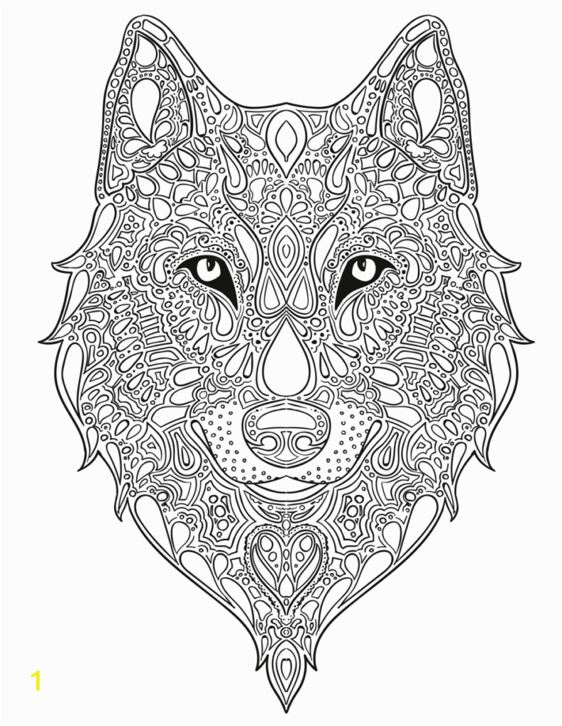 wolf coloring pages fox pageal for adults baby free adult