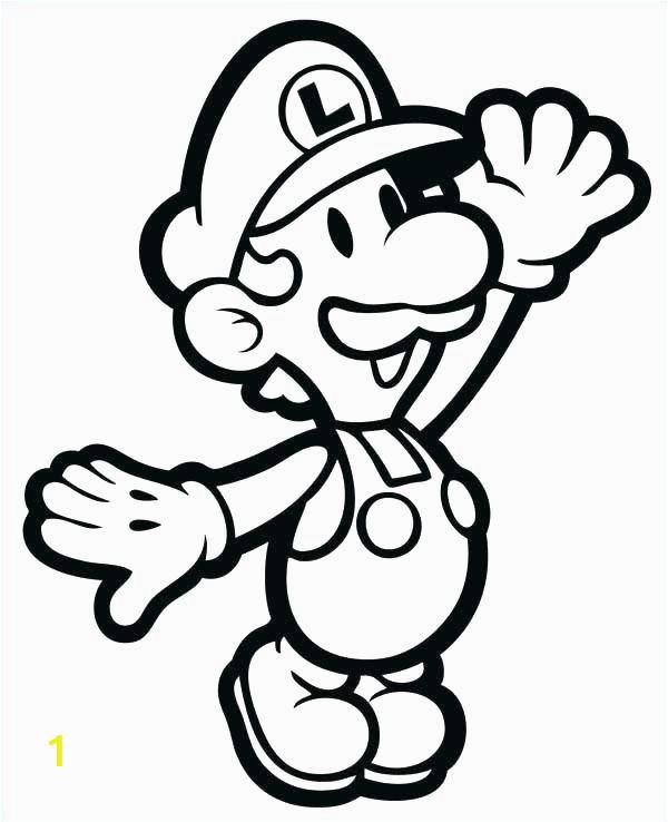 Disney Cartoon Coloring Pages Super Mario Coloring Page Beautiful Mario Coloring