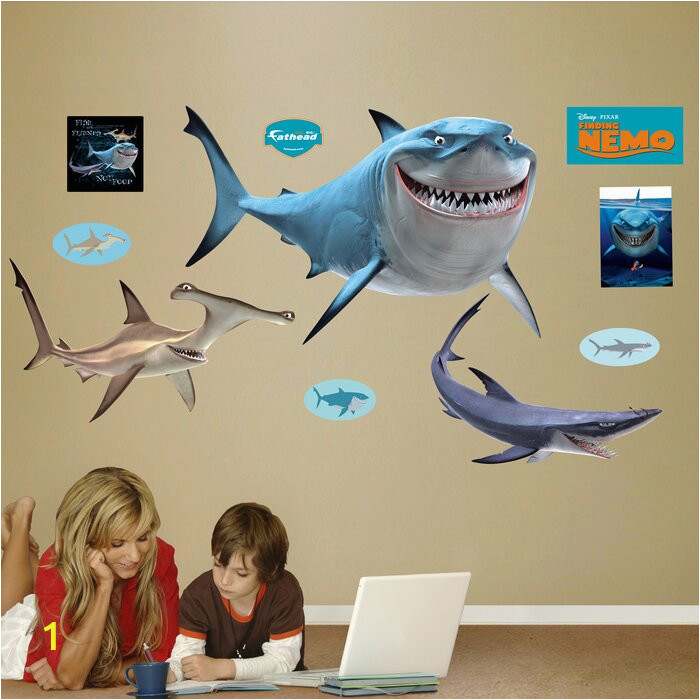 Disney Finding Nemo Sharks Wall Decal