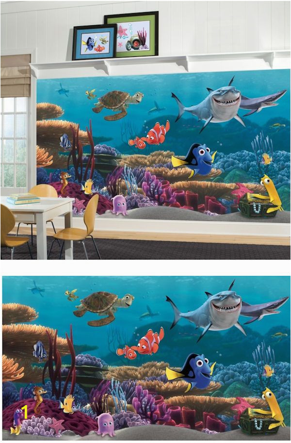 Disney Finding Nemo Wall Mural Finding Nemo Xl Mural Wall Sticker Outlet