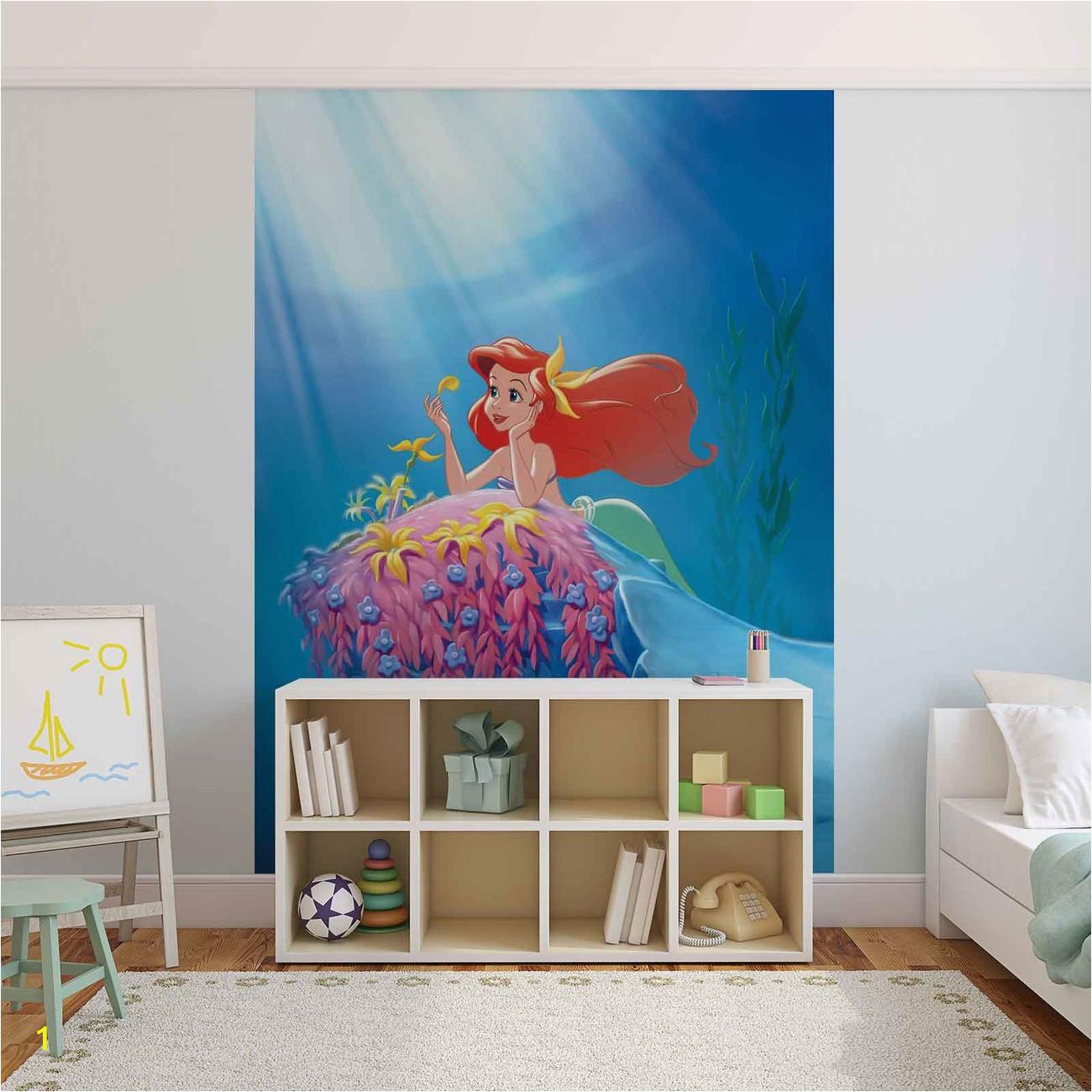 Disney Little Mermaid Wall Mural Fototapeta Disney Malá Mořská Vla Ariel