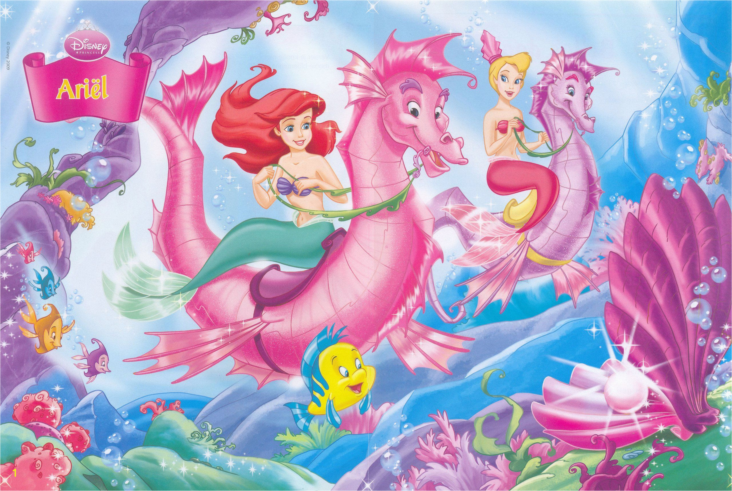 Disney Little Mermaid Wall Mural Little Mermaid Disney Fantasy Animation Cartoon Adventure