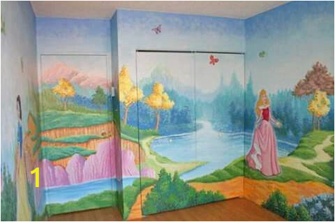 Disney Painted Wall Murals Pin by ashlie Hatcher On Home Decor