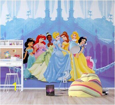 disney princesses girl s bedroom wallpaper 360x270cm photo wall mural giant size