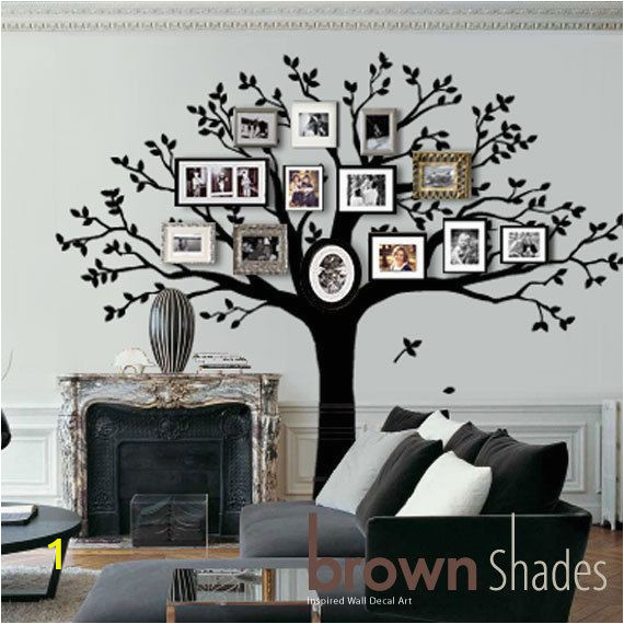 Diy Family Tree Wall Mural Wall Decal Family Tree Wall Decal Frame Tree Decal