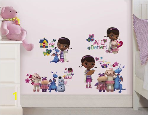 Doc Mcstuffins Wall Mural Doc Mcstuffins Wall Decoration Decals