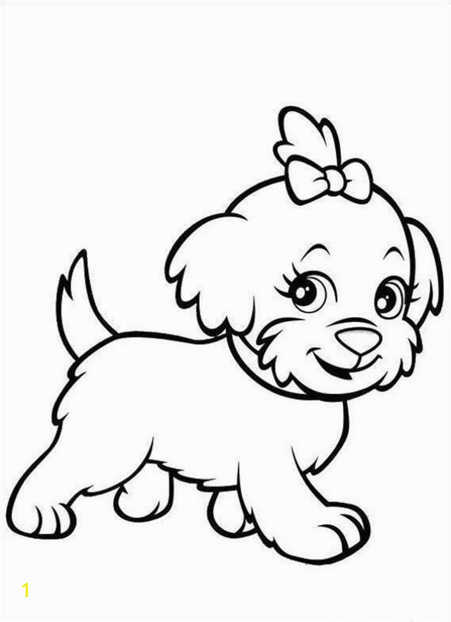 Dog Online Coloring Pages Puppy Coloring Pages Free