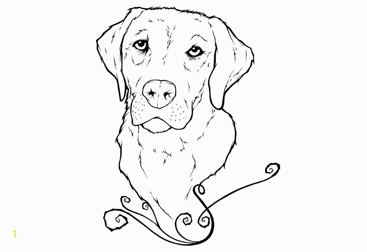 Dog Online Coloring Pages Yellow Lab Puppy Coloring Pages