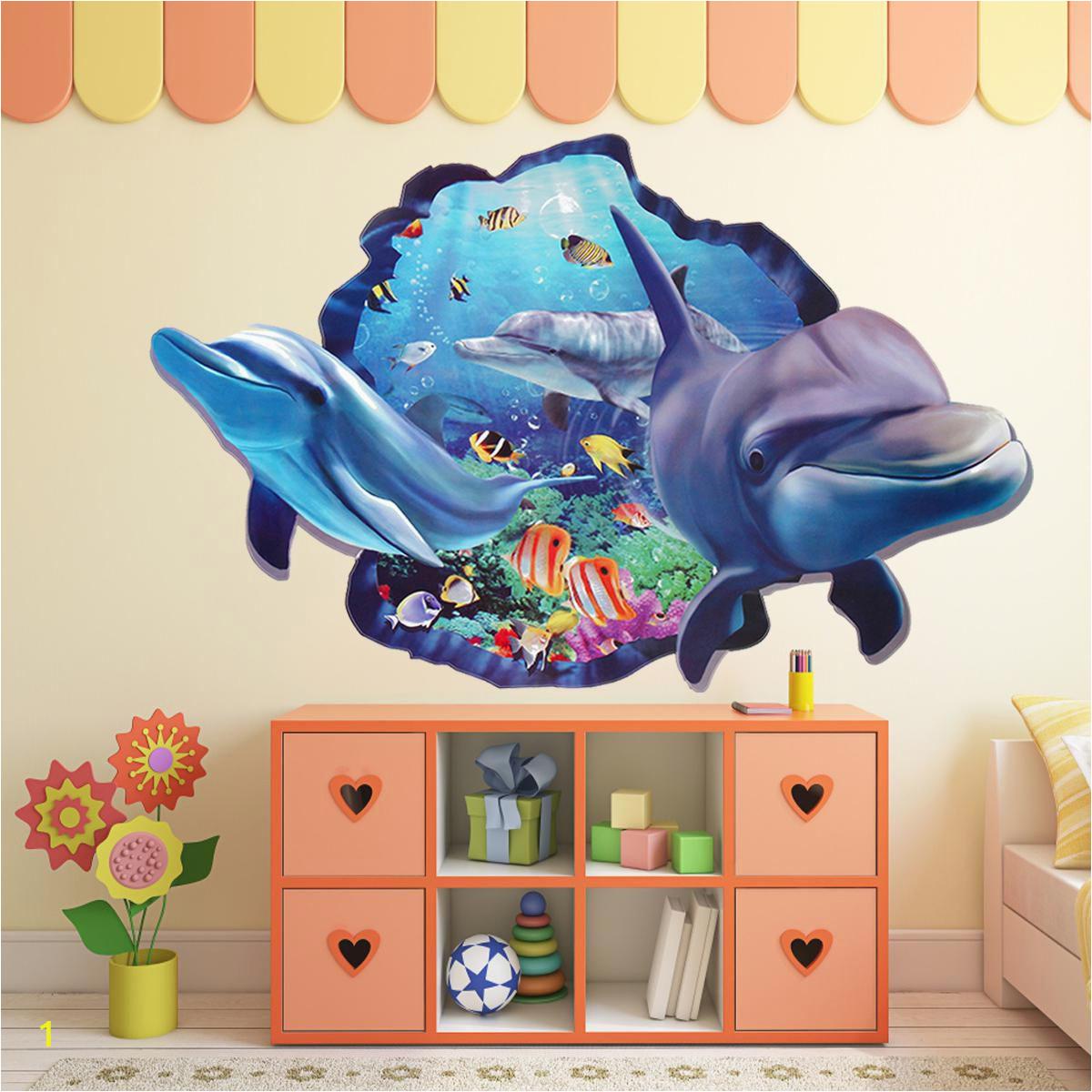 Wall Stickers Ocean DIY Dolphin SDL 1 33ba4 JPEG