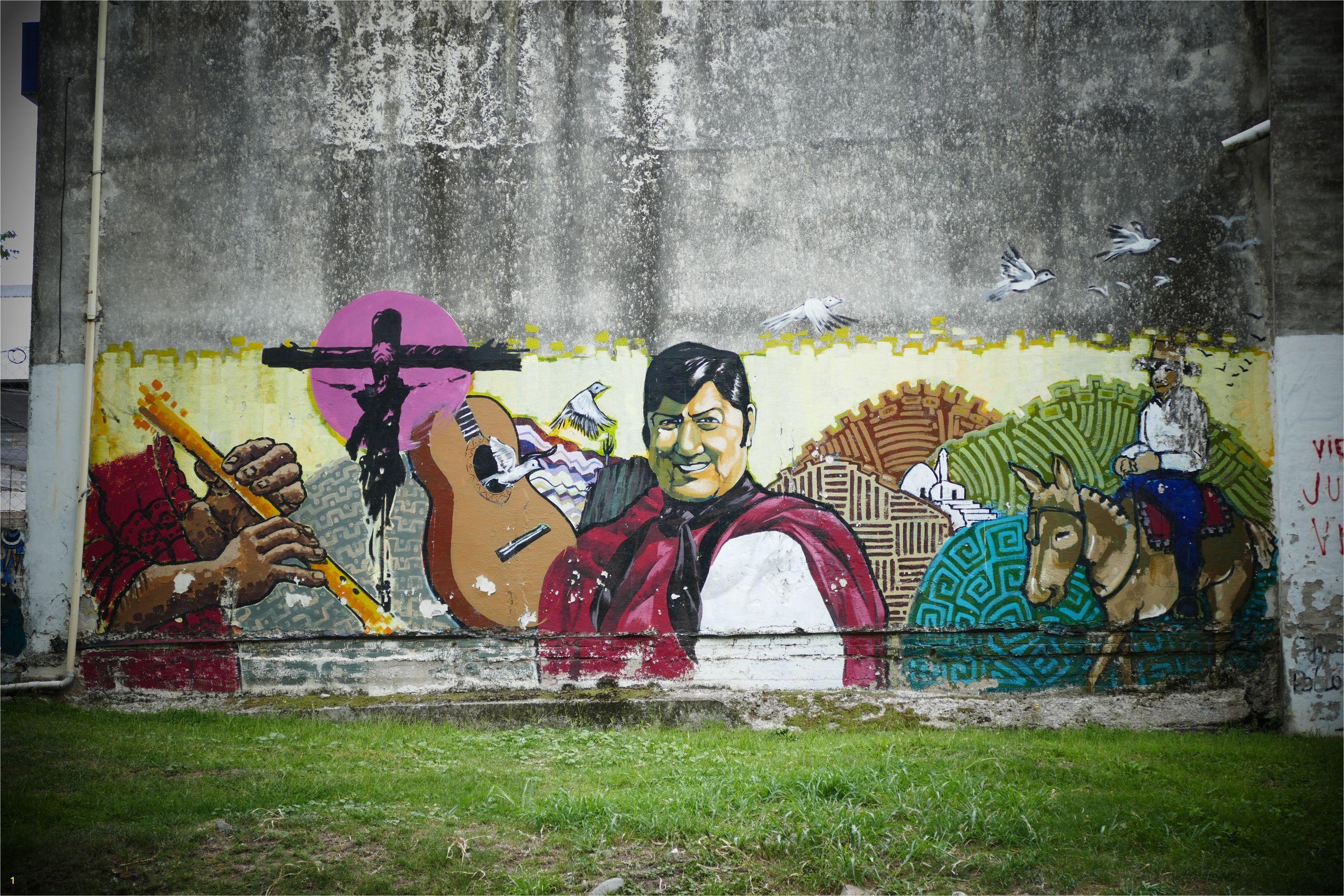 Otro mural en Unquillo