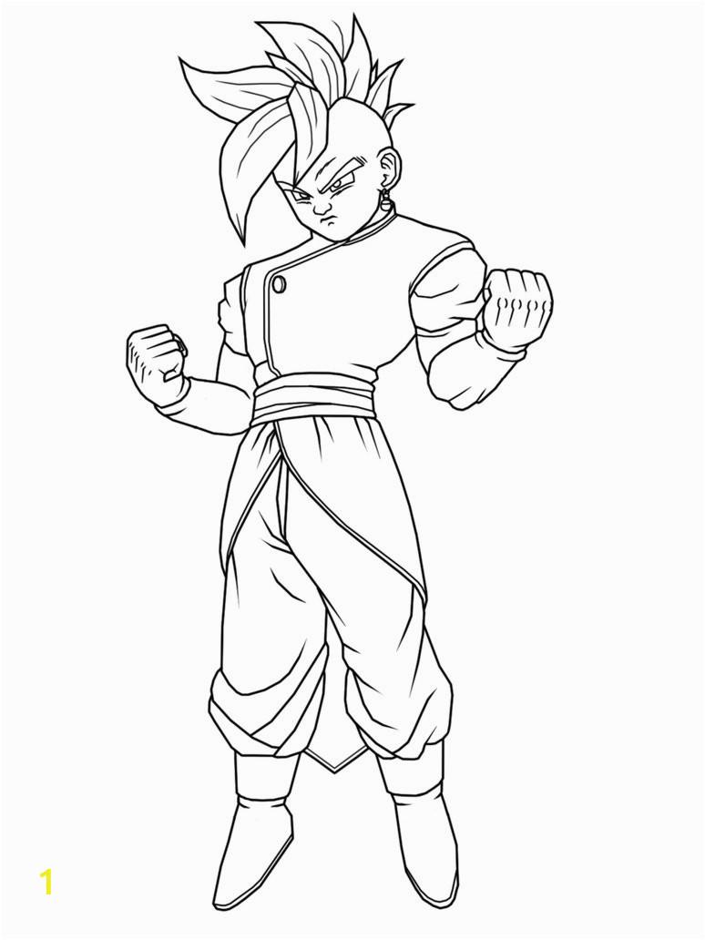 Supreme Kai Dragon Ball Z Coloring Pages