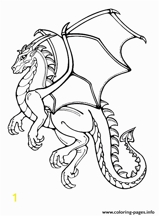Dragon Coloring Pages for Kids Printable Print Honorable Dragon Coloring Pages