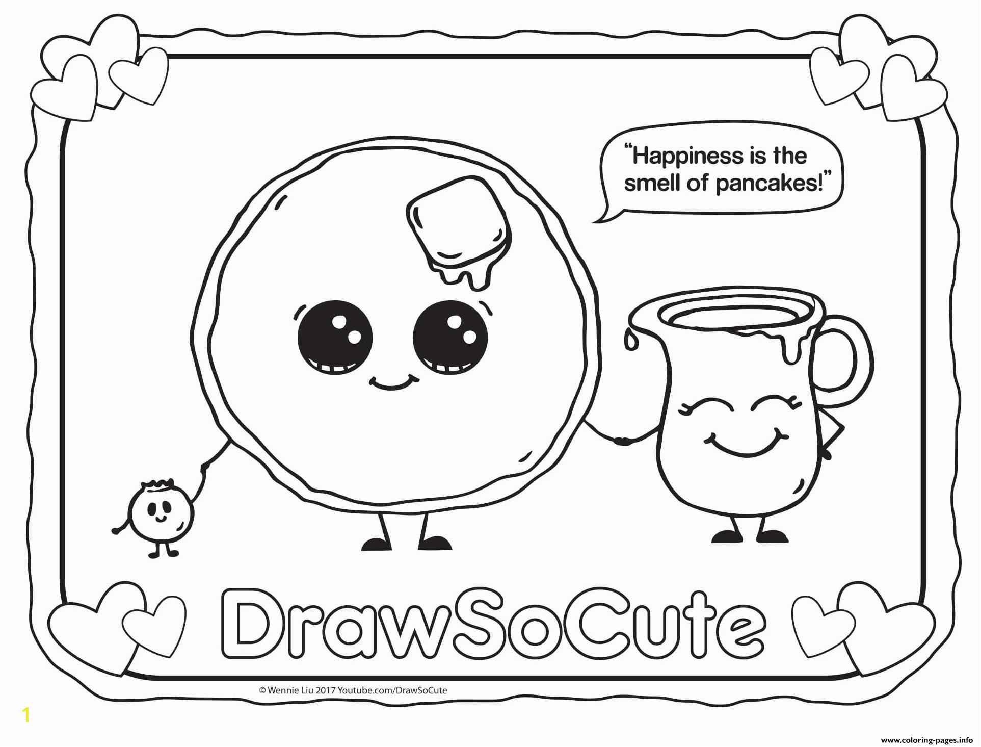 pancake draw so cute coloring pages printable animal l adorable fish sheets shark zoo pictures to color sheep page horse sea animals colouring of