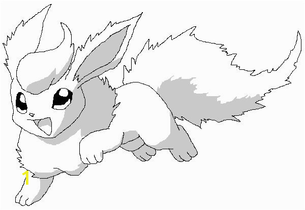 Eevee Pokemon Coloring Pages Cool Coloring Pokemon Coloring Pages Flareon for Flareon