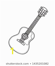 acoustic guitar instrument music illustration 260nw