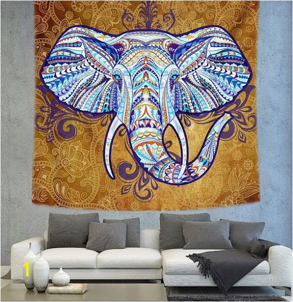 the 22 best elephant boho wall decor images on pinterest elephant within indian elephant wall art of indian elephant wall art