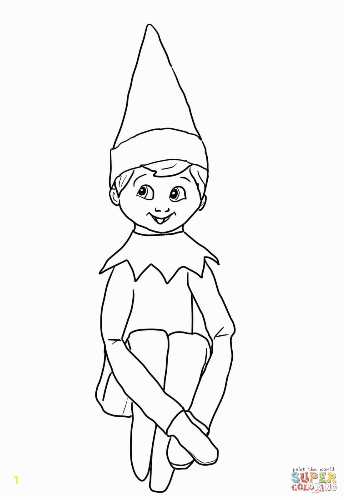 elf on the shelf coloring pages printable rigyg7zlt