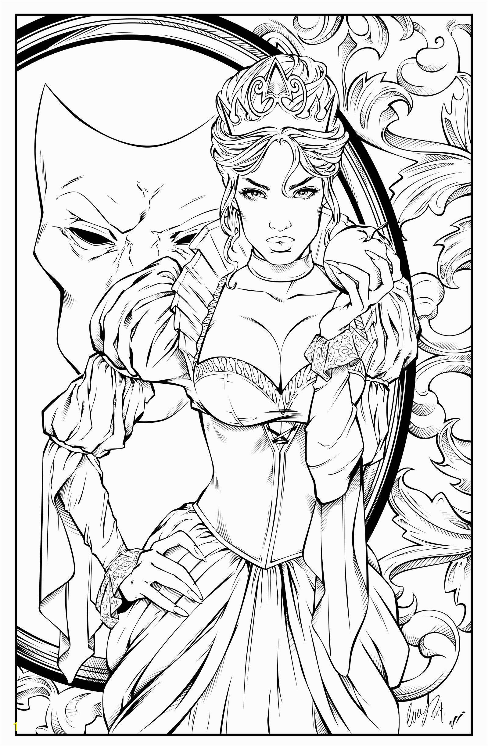 Evil Queen Coloring Page Evil Queen at Coloring Pages Evil Queen at Coloring Pages