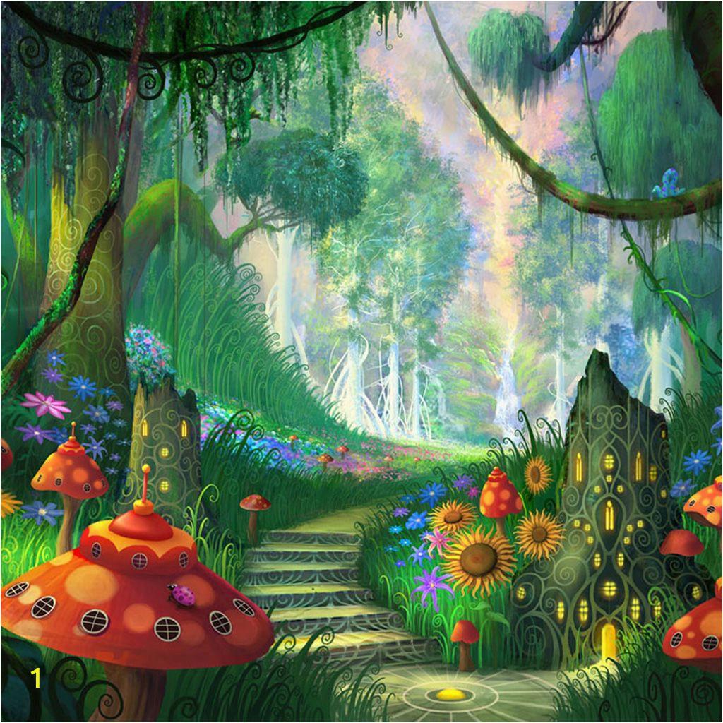 Fairy Wall Murals Uk Fantasy Garden