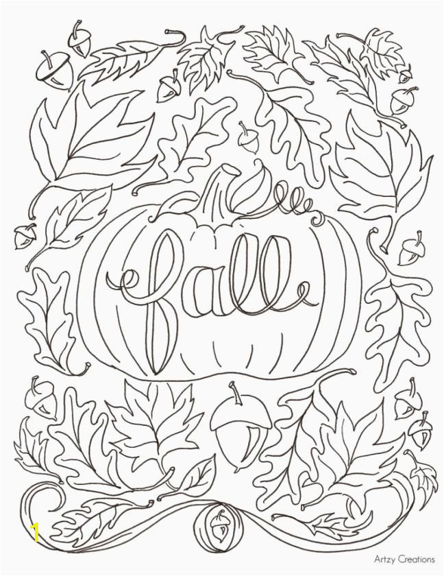 Fall Coloring Pages by Number Falling Leaves Coloring Pages Luxury Fall Coloring Pages for