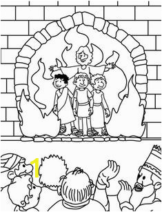 Fiery Furnace Coloring Page Print 1555 Best Coloring Sheets Images