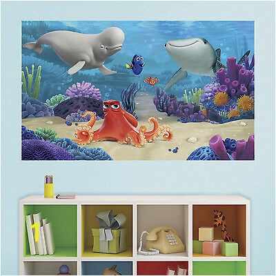 finding dory 5 x 3 peel and stick wall decal mural dory