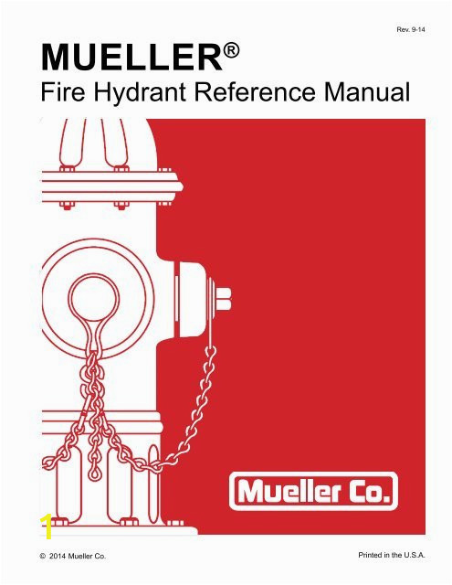 fire hydrant identification mueller co