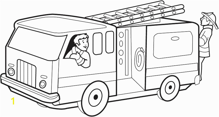 fire truck coloring pages 15