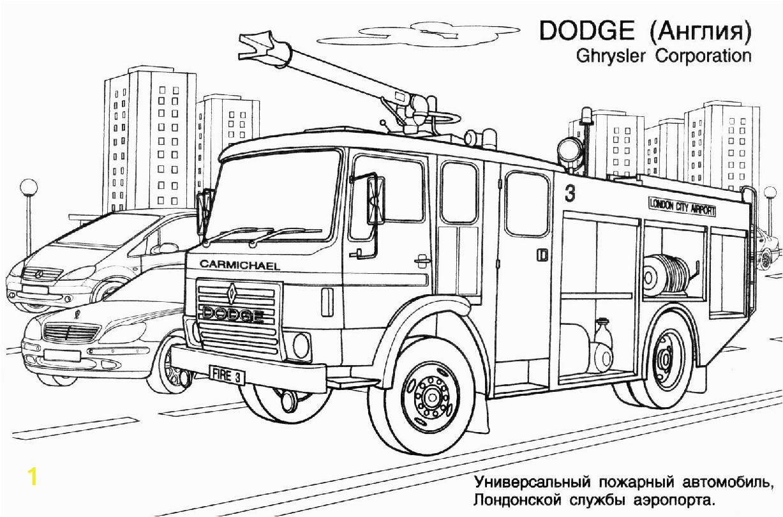drawing firetruck 22
