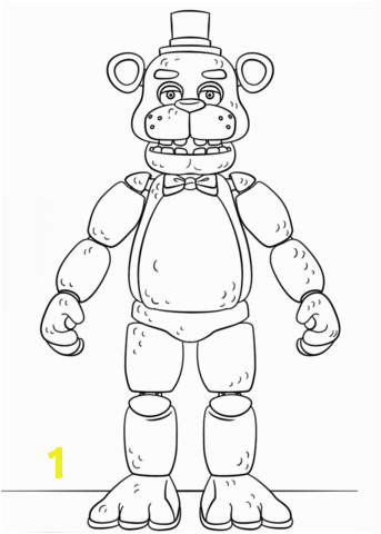 1042d1e74ecd2d615c9d484f5483a362 fnaf toy golden freddy coloring page free printable coloring pages 343 480