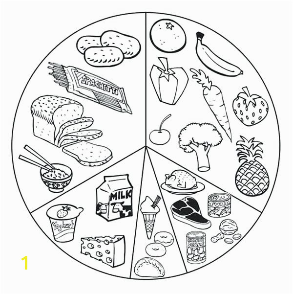 nutrition coloring pages 11