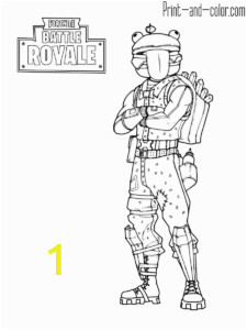 Fortnite Coloring Pages Ikonik Skin fortnite Battle Royale Coloring Page Beef Boss Skin Outfit