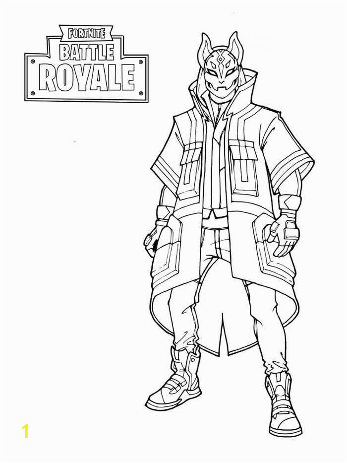 Fortnite Coloring Pages Marshmello fortnite Coloring Pages for Kids