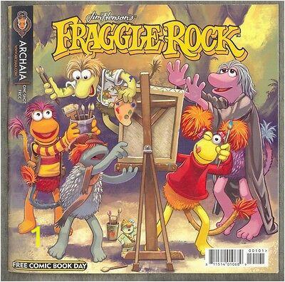 FCBD 2010 Fraggle Rock Mouse Guard 2 Sided