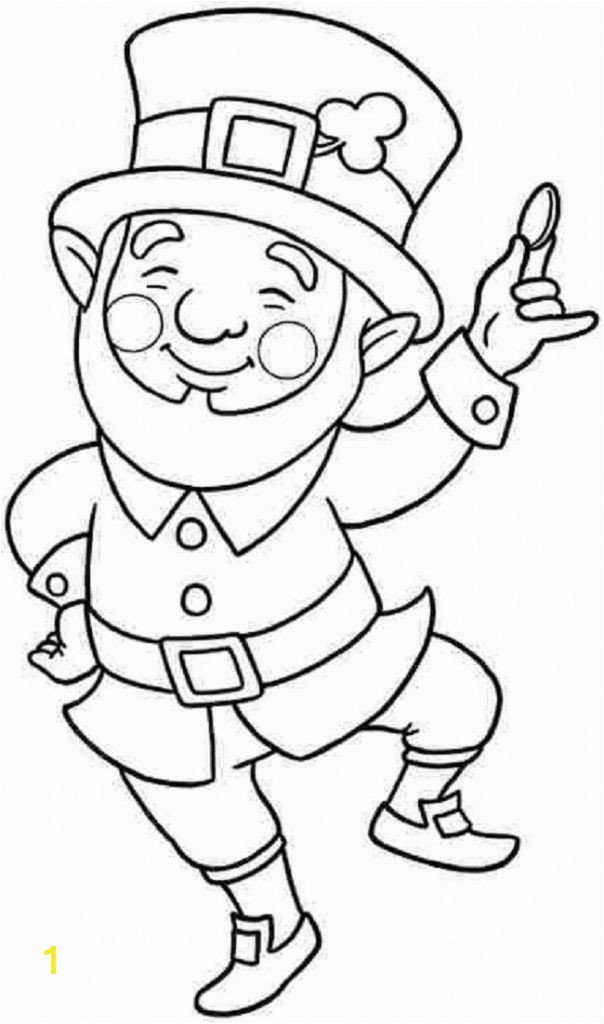 Free Coloring Pages Of Leprechauns Printable Leprechaun Coloring Pages