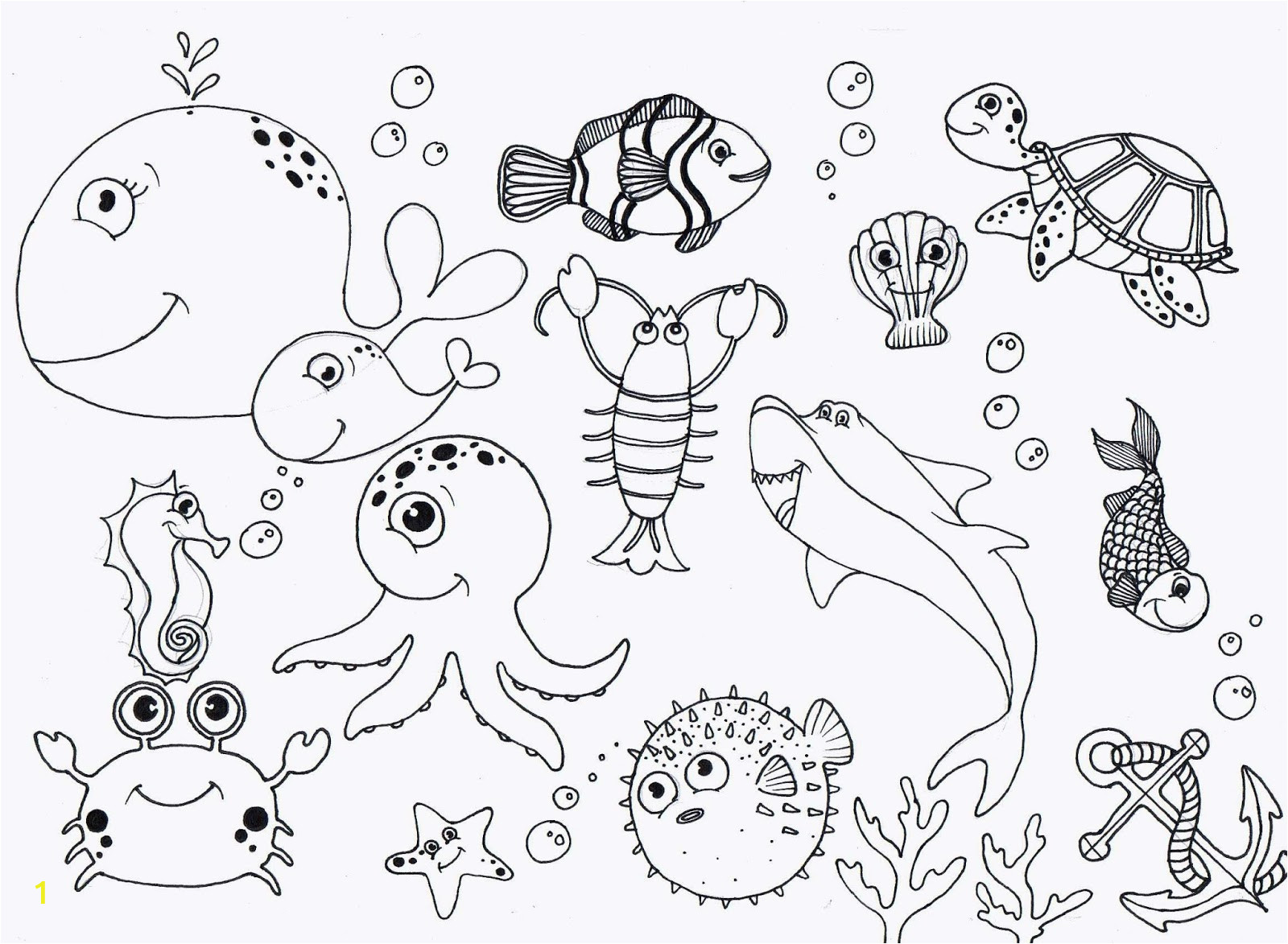 fbae99bc9bc55c dc2b173fba8f under sea coloring pages high quality 1600 1173