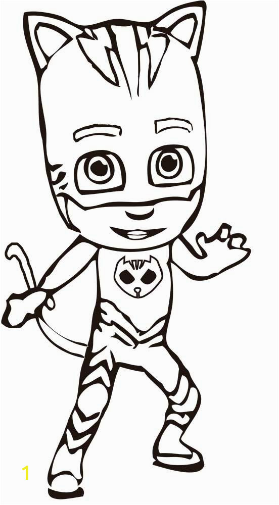 Free Pj Masks Coloring Pages to Print Pj Masks Coloring Pages