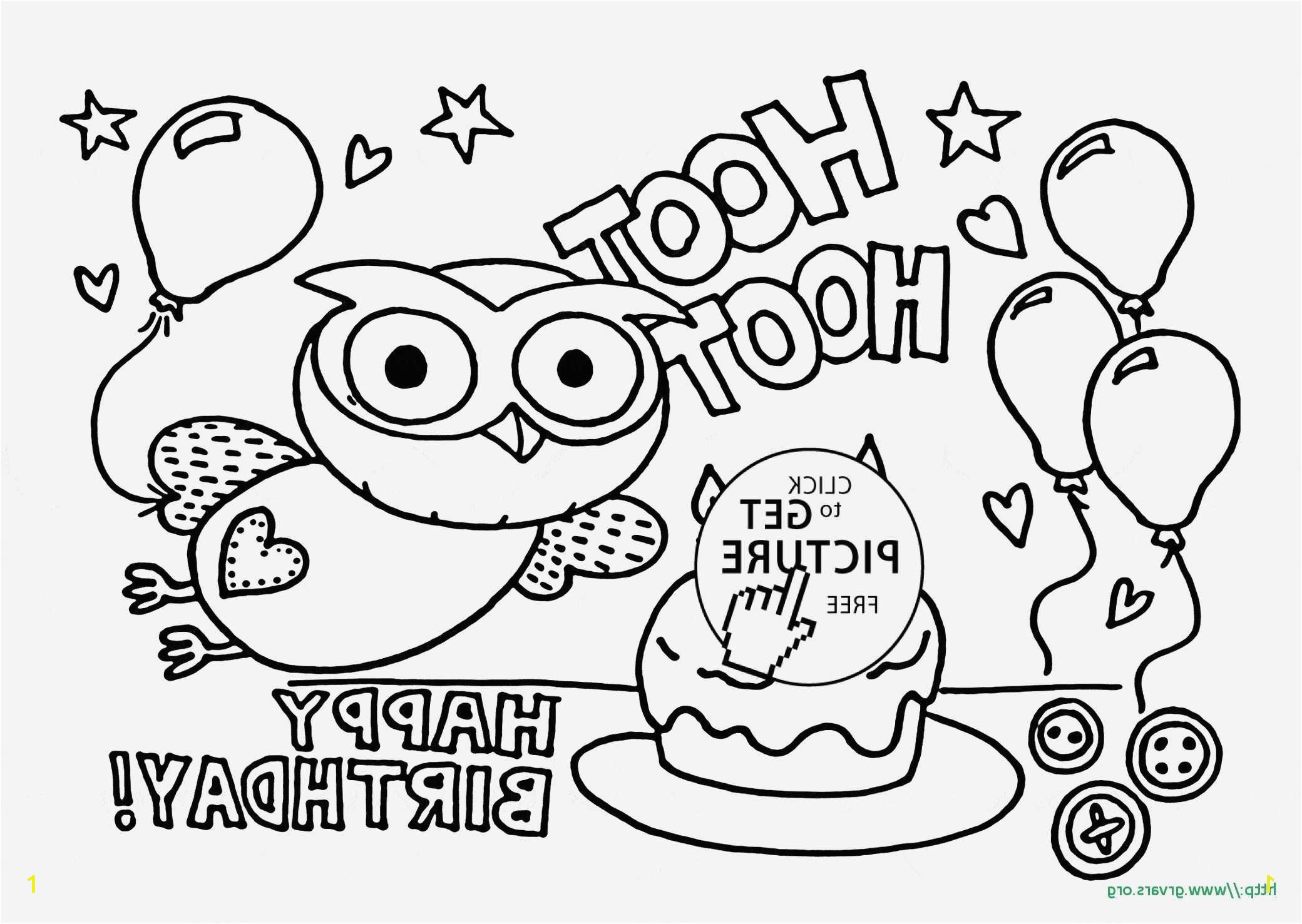 Free Printable Birthday Coloring Pages 24 Unique Graphy Free Cupcake Coloring Page