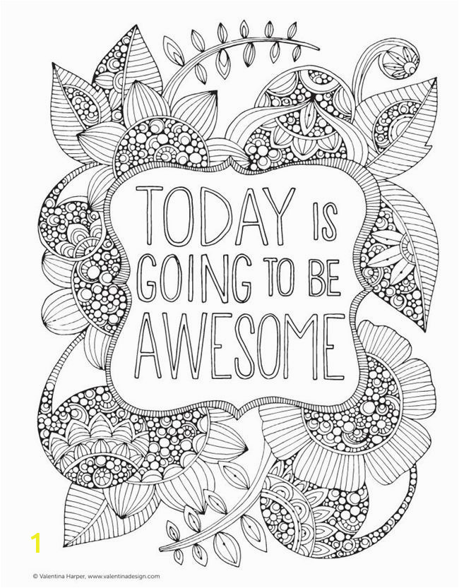 Free Printable Coloring Pages for Adults Only Quotes Printable Coloring Pages for Adults 15 Free Designs