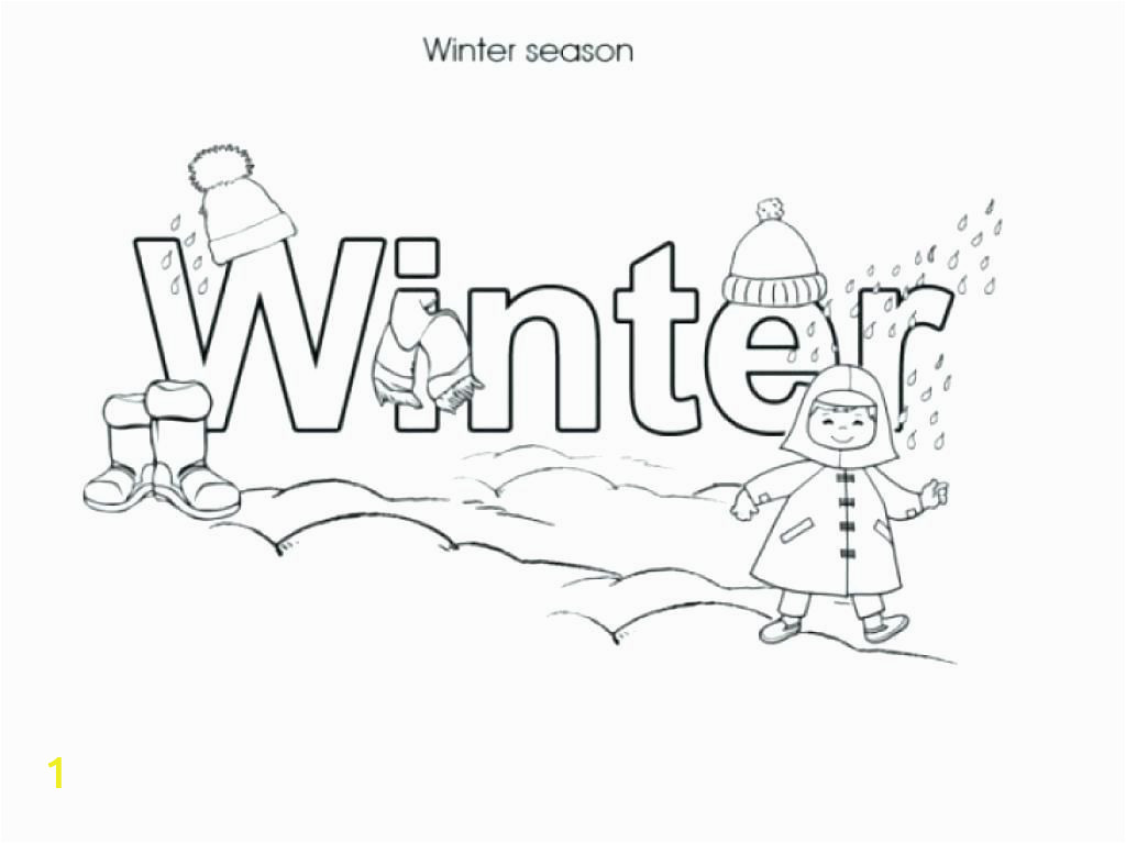 Free Printable Coloring Pages for Winter Here are Winter Coloring Pages Printable Pictures Free