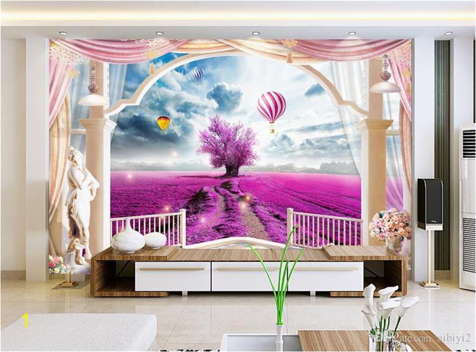 custom 3d photo wallpaper mural living room