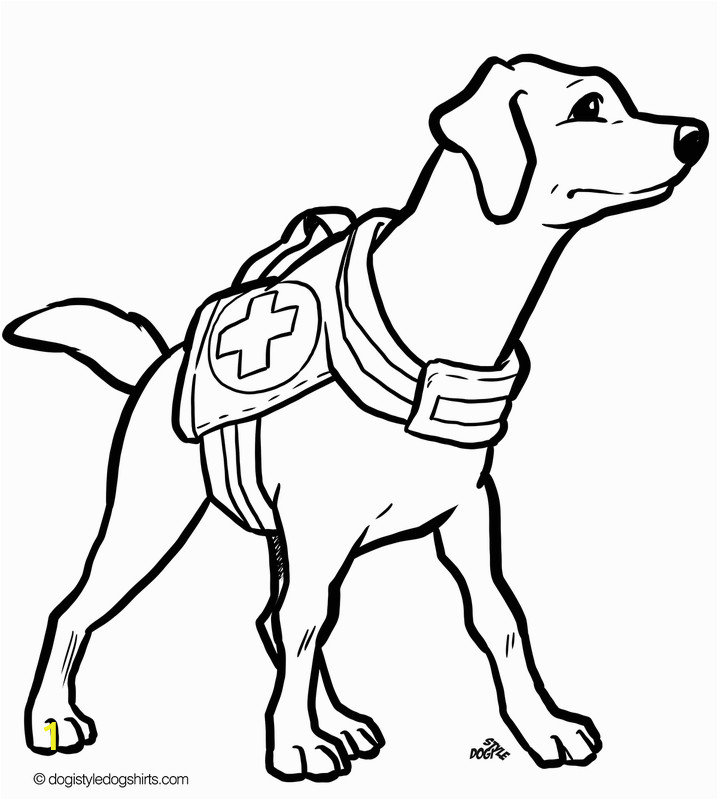 cool coloring pages of dogs 1