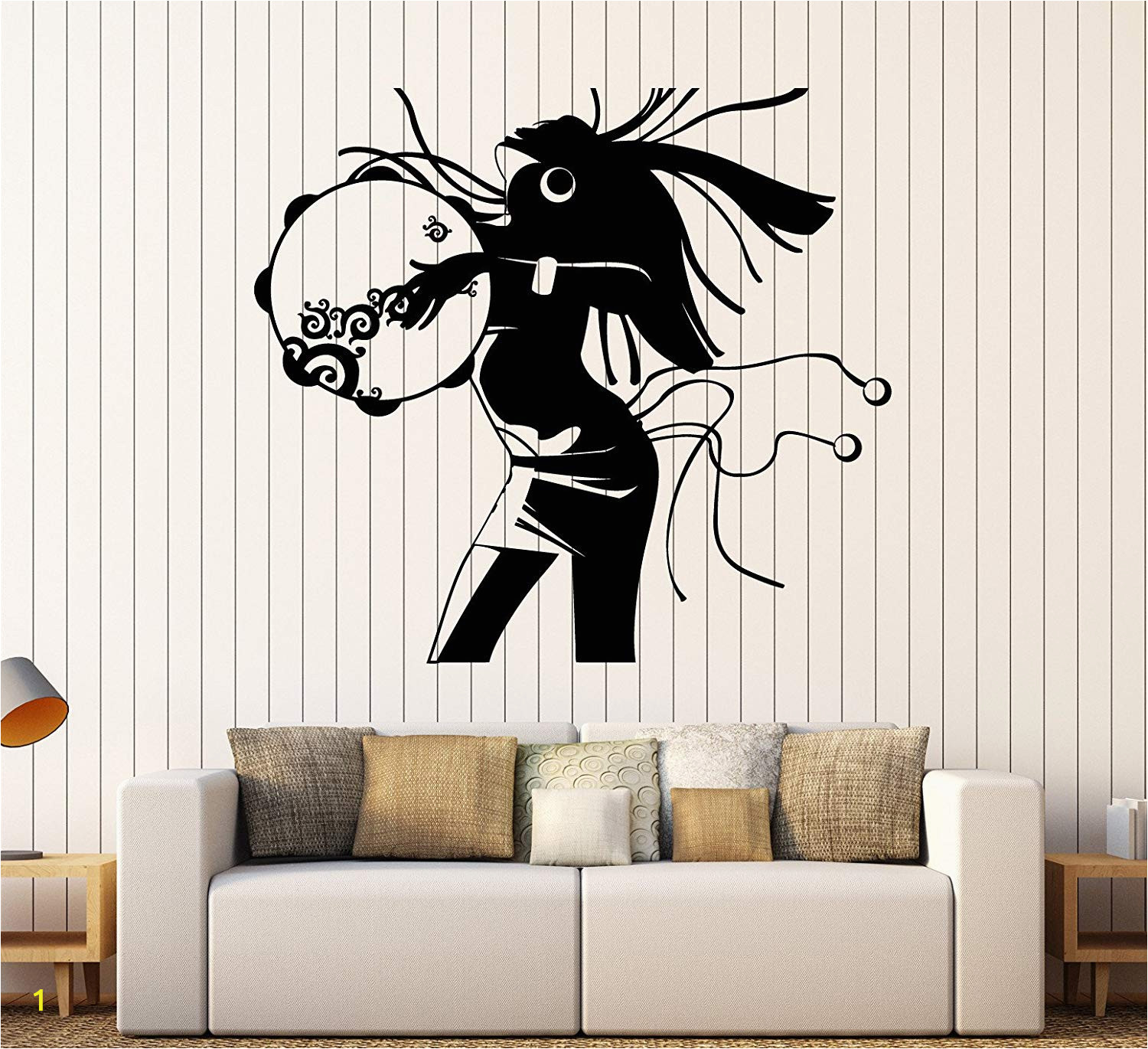 Giant Wall Mural Decals Amazon Vinyl Wall Decal African Woman Ethnic Style