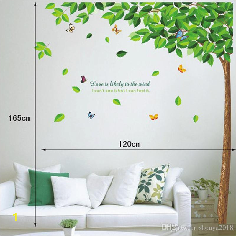 home decor large wall sticker family tree