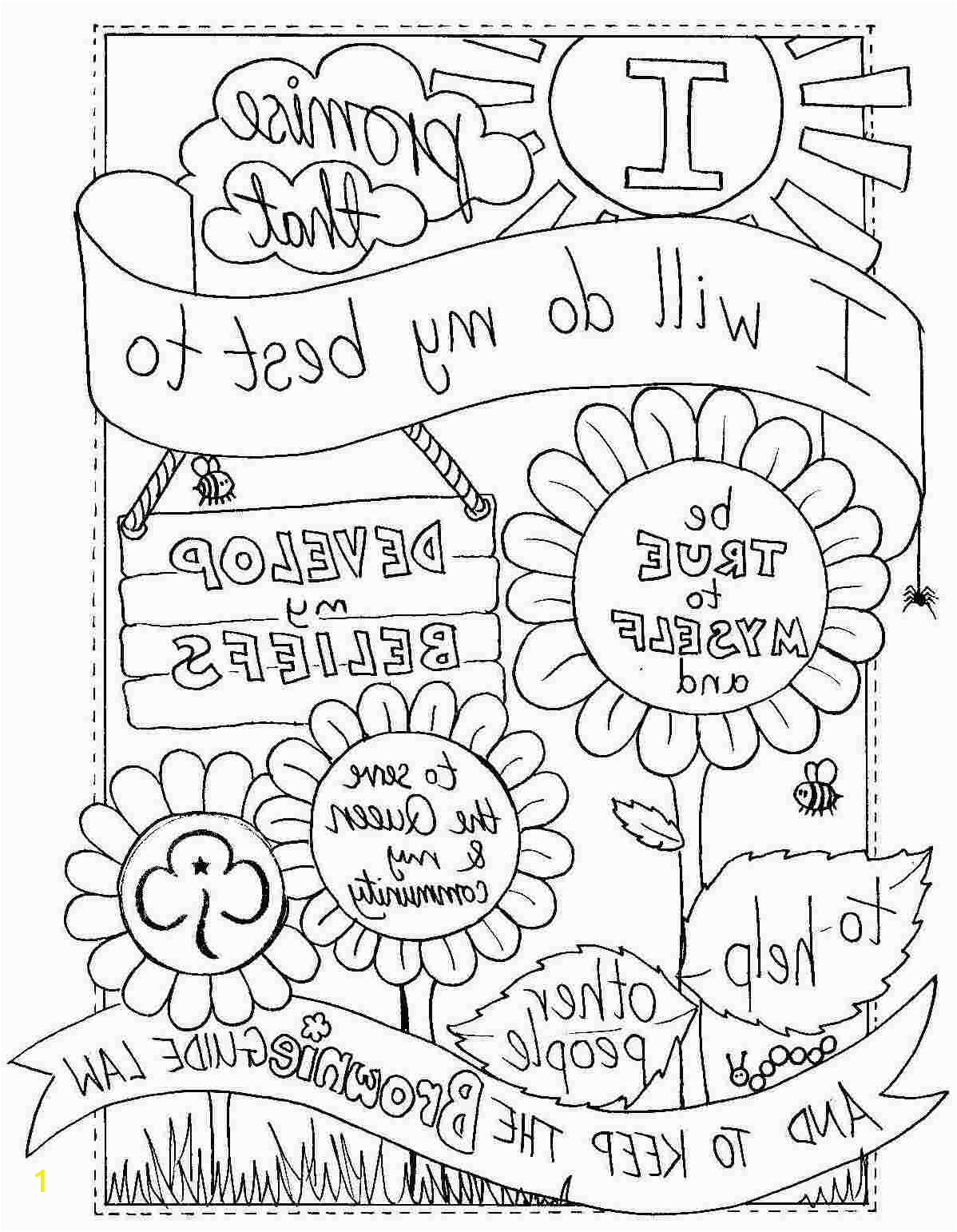 girl scout law coloring pages brownies 50 girl scout brownie coloring pages brownie scout promise coloring pages coloring coloring scout law girl brownies pages