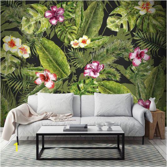 Graham and Brown Wall Murals Couture Jungle Flora Mural Graham & Brown Uk
