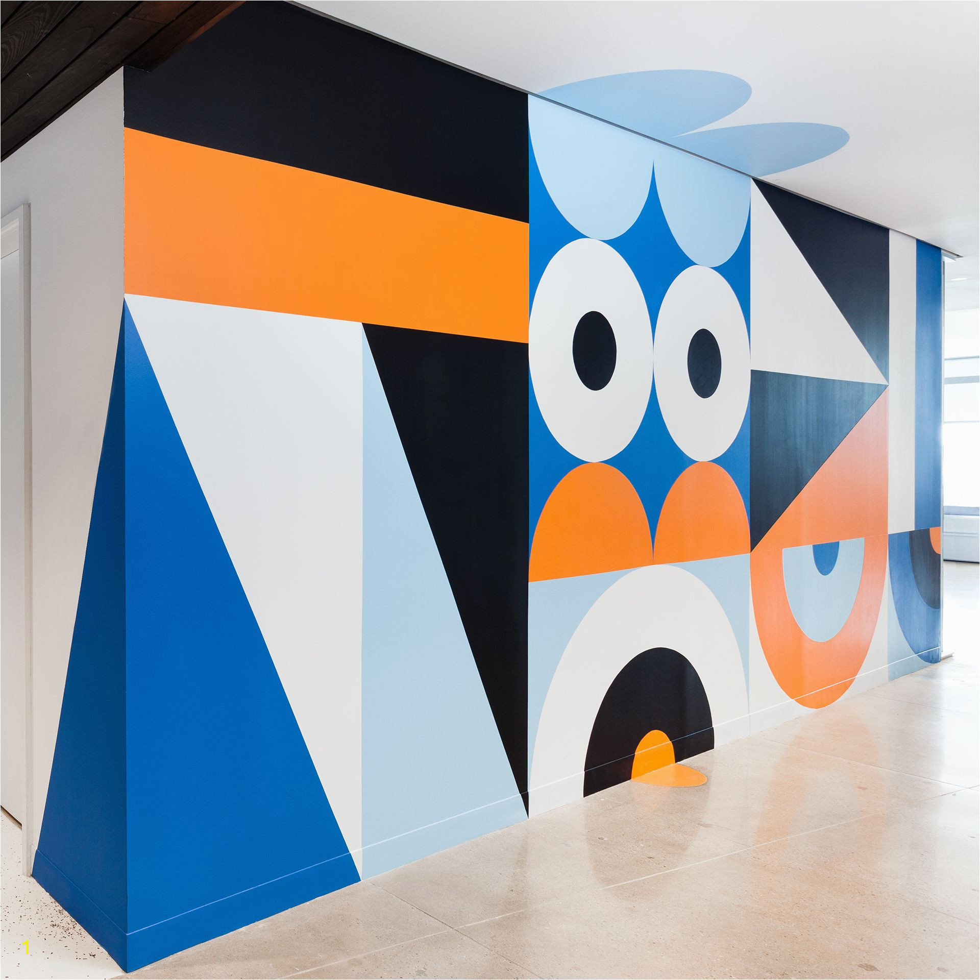 Graphic Murals for Walls 120 Wall St by Craig & Karl In 2019